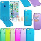 Transparent Silicone/Gel/Rubber Cases, Covers & Skins for iPhone 4