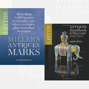 Miller's Antiques Collection By Judith Mille 2 Books Collection Set Handbook,New