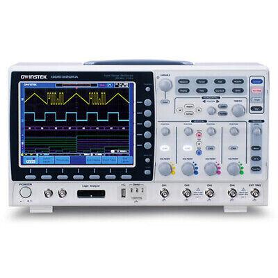 Instek Gds-2202e 200 Mhz 2-channel Digital Storage Oscilloscope