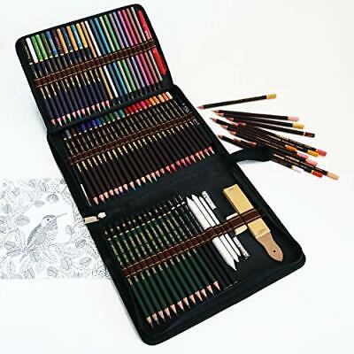 lapices colores profesionales,kit para dibujar a lapiz,72 dibujos a lapiz con