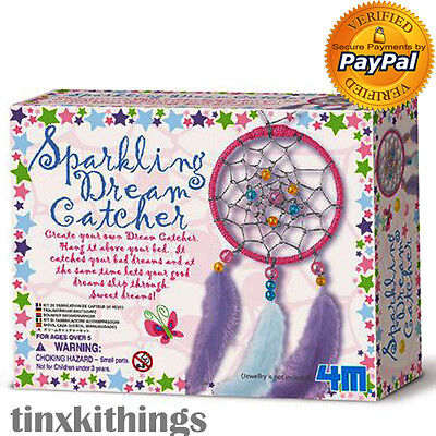 Dream Catcher Art Kit for Girls and Kids Sparkling Classic Craft Children Toy