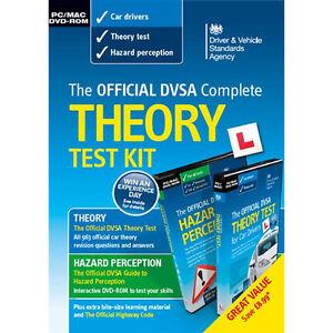 Official DSA Theory Test Kit 2015 2016 PC MAC DVD Hazard Perception DVLA CD