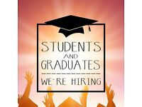 Students and Graduates - WE'RE HIRING - Work from Home
