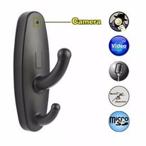 Spy CLOTHES HOOK Hidden CAMERA + MOTION DETECTION @R400 each