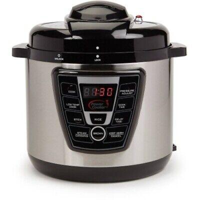Power Cooker PC_PRO8_8QT 9-in-1 Digital Pressure Cooker 8 Quart w/ Flavor