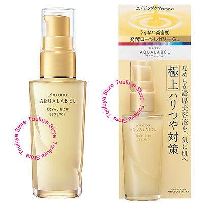 New Shiseido AQUALABEL Royal Rich Essence Aging Care Serum 30ml
