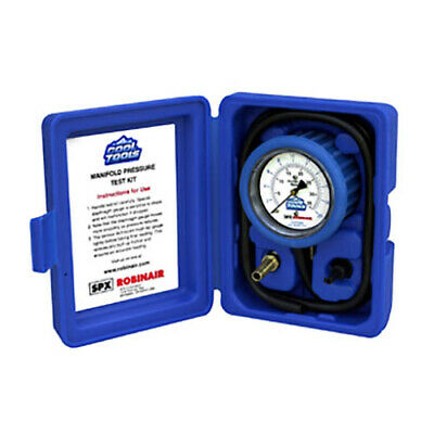 Robinair 42162 Manifold Pressure Test Kit 0-10 In Of Water Column