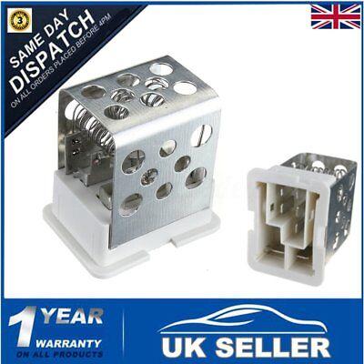 Heater Blower Motor Fan Resistor for Vauxhall Astra MK IV G H MK IV 4 5 Zafira A