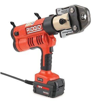 Ridgid 43373 Rp 340 Corded Press Tool Kit Wjaws12-2