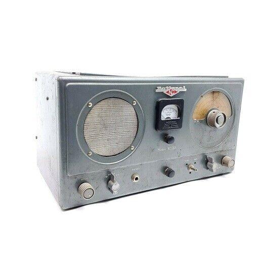 National Radio NC-33 Communications Ham Radio Receiver Tube 4 Band