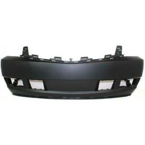 Front Bumper Cover For 2006-2011 Cadillac DTS w// fog lamp holes Primed