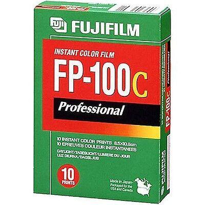 Fujifilm FP-100C Professional Instant Color Film ISO 100 (10 Exposure, Glossy)
