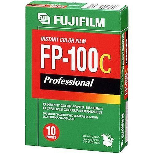Купить Fujifilm FP-100C - Fujifilm FP-100C Professional Instant Color Film ISO 100 (10 Exposure, Glossy)
