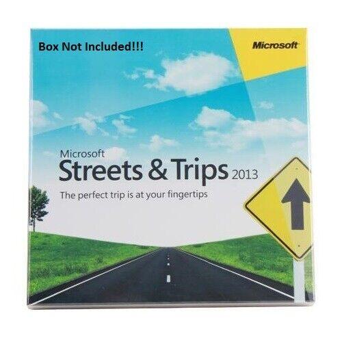 Microsoft Streets & Trips 2013 Navigation - 3 PC's