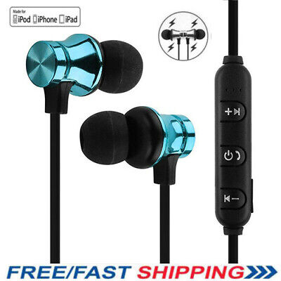 For iOS Apple iPhone 7 8 Plus X Bluetooth Wired IN-EAR Headset Earphones Earbuds