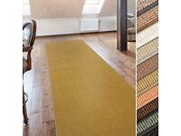 """Sisal runner rug 3.5x0.66m (11'6""""x2'2"""")"""