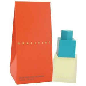 Realities by Liz Claiborne 3.4 oz EDT Perfume for Women New In Box