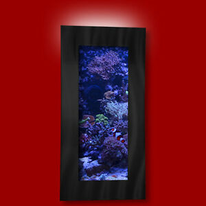 NEW-AUSSIE-AQUARIUM-VERTICAL-BRUSHED-ALUMINUM-WALL-MOUNTED-FISH-TANK ...