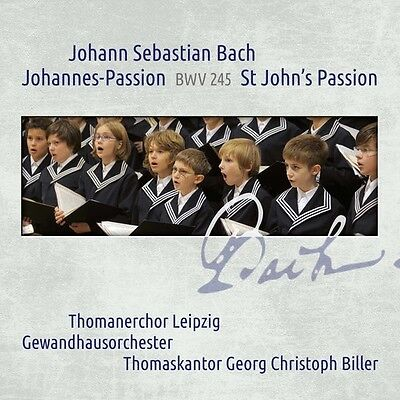Johann Sebastian Bach: St John's Passion BWV 245 [New CD]