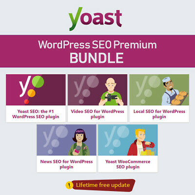 Wordpress Yoast Seo Premium Plugin All Extensions - Update Lifetime