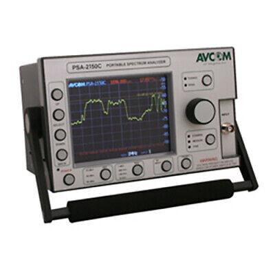 Avcom Psa-2500c-2nl Portable Battery-powered Spectrum Analyzer 5 Mhz-2500 Mhz