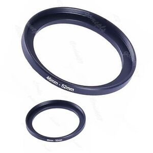 Metal-46mm-52mm-Step-Up-Lens-Filter-Ring-46-52-mm-46-to-52-Stepping-Adapter