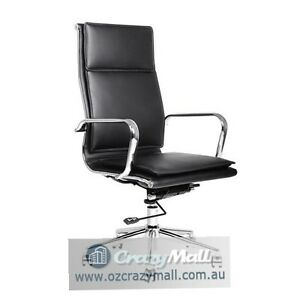 PU Leather Office Boardroom Chair Melbourne CBD Melbourne City Preview