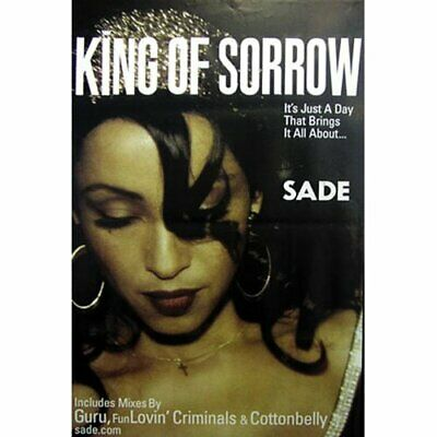 SADE RIESENPOSTER GIANT POSTER KING OF SORROW - ca.