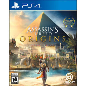 Assassin's creed origins PS4 40$ ou contre Wolfenstein II