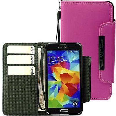 Handytasche für Samsung Galaxy S5 Case Etui Hülle Phone S 5 pink Phone Cases Für Galaxy S5