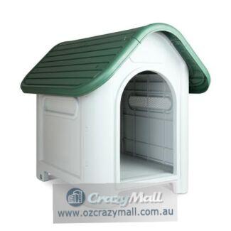 Weatherproof Plastic Dog Kennel All Sizes