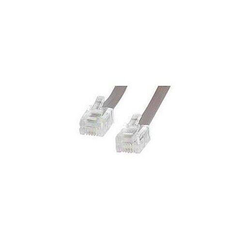 StarTech.com (7.6m) Network Cable RJ-11/RJ-11 (Grey)
