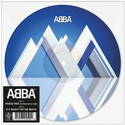 "ABBA - Voulez-Vous: Extended Dance Mix (Picture Disc) [New 7"" Vinyl] Picture Dis"