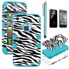 Zebra Hybrid iPhone 4S Cases