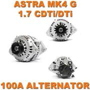 Vauxhall Astra 1.7 Cdti Alternator
