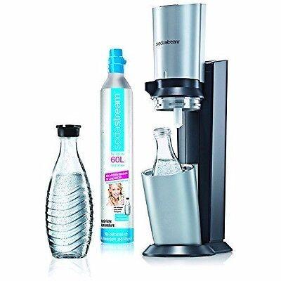 SodaStream Wassersprudler-Set Crystal - mit dem Glaskaraffen