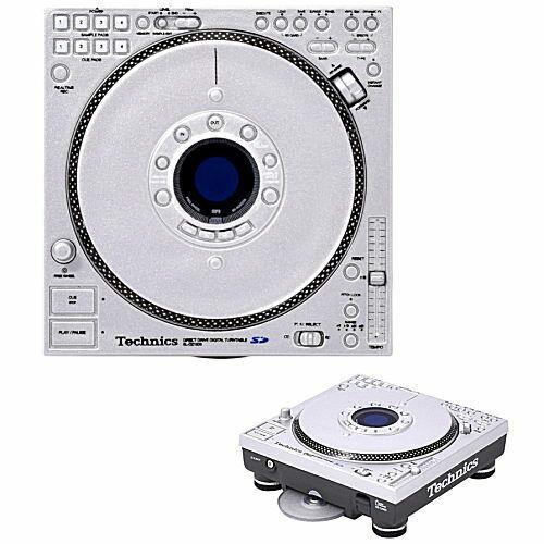 SL-DZ1200 Technics Turntable Miniature Figure Audio Mixer CDJ Capsule Toy New FS