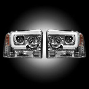 RECON FORD SUPER DUTY CLEAR OLED PROJECTOR HEADLIGHTS 05-07