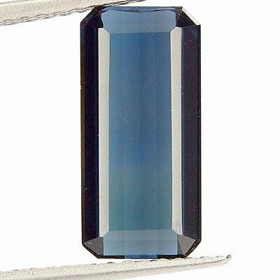 TOP INDICOLITE : 4,31 Ct Natürlicher Indigolith aus Brasilien ( Blau Turmalin )