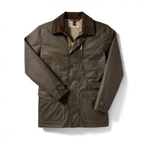 Filson Cover Cloth Jacket Otter Green Size Medium