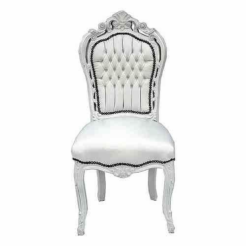 barock stuhl wei jetzt online bei ebay entdecken ebay. Black Bedroom Furniture Sets. Home Design Ideas