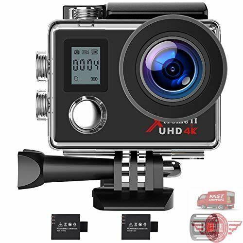 5 Action alt Gopro Hero 4K WiFi Ultra HD Sports Waterproof Camera 12MP 170 Degre
