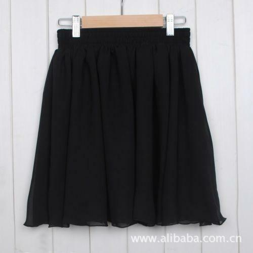 black pleated micro mini skirt ebay