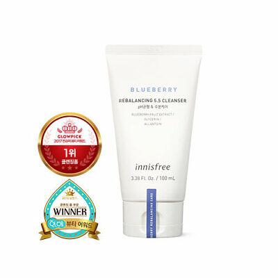 [Innisfree] Blueberry Rebalancing 5.5 Cleanser 100ml (Korean Cosmetics)