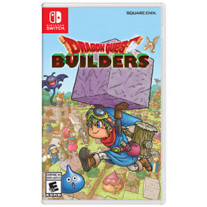 Nintendo Switch Dragon Quest Builders + Guide
