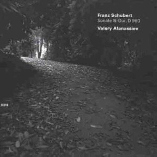 Valery Afanassiev - Piano Sonata in B Flat Major [New CD]
