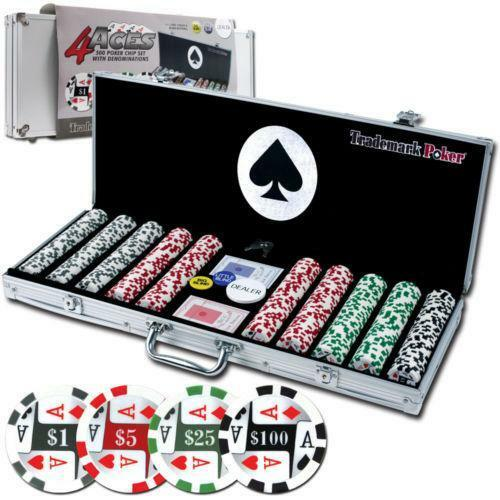 Poker Chip Set Case Ebay
