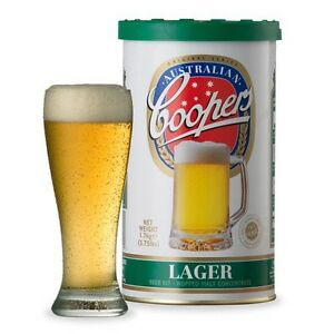 Coopers Lager great beer kit SALE $18