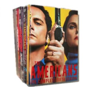 dvd movies...The AMERICANS dvds...1-5