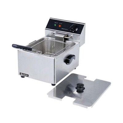 Adcraft Df-6l Single Electric Countertop Deep Fryer